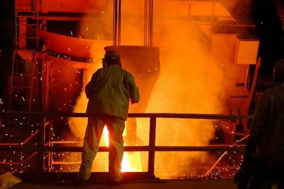 steel mills and oil performance