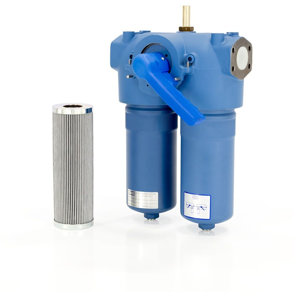 Hydraulic And Lubrication Filter Types Locations Fuel Transfer Pump Duplex Filters